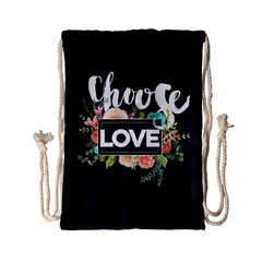 Love Drawstring Bag (small) by 8fugoso