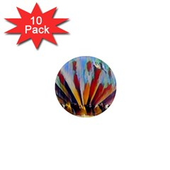 3abstractionism 1  Mini Magnet (10 Pack)  by 8fugoso