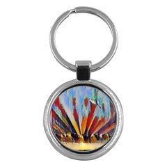 3abstractionism Key Chains (round)  by 8fugoso