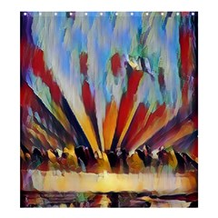 3abstractionism Shower Curtain 66  X 72  (large)  by 8fugoso