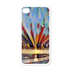 3abstractionism Apple Iphone 4 Case (white) by 8fugoso