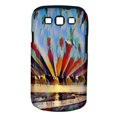 3abstractionism Samsung Galaxy S Iii Classic Hardshell Case (pc+silicone) by 8fugoso
