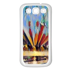 3abstractionism Samsung Galaxy S3 Back Case (white) by 8fugoso