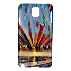 3abstractionism Samsung Galaxy Note 3 N9005 Hardshell Case by 8fugoso