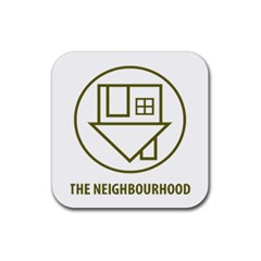 The Neighbourhood Logo Rubber Coaster (square)  by Celenk