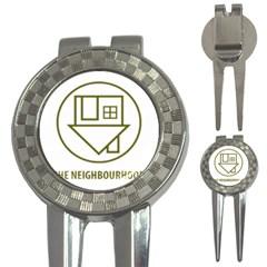 The Neighbourhood Logo 3 In 1 Golf Divots by Celenk