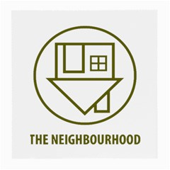 The Neighbourhood Logo Medium Glasses Cloth (2 Side) by Celenk