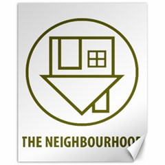 The Neighbourhood Logo Canvas 11  X 14   by Celenk