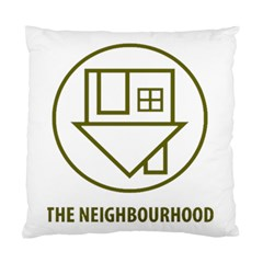 The Neighbourhood Logo Standard Cushion Case (two Sides) by Celenk