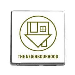 The Neighbourhood Logo Memory Card Reader (square) by Celenk