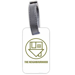 The Neighbourhood Logo Luggage Tags (two Sides) by Celenk