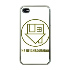 The Neighbourhood Logo Apple Iphone 4 Case (clear) by Celenk