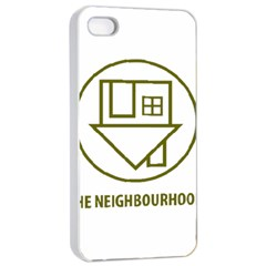 The Neighbourhood Logo Apple Iphone 4/4s Seamless Case (white) by Celenk