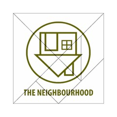 The Neighbourhood Logo Acrylic Tangram Puzzle (6  X 6 ) by Celenk