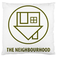 The Neighbourhood Logo Large Cushion Case (two Sides) by Celenk