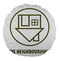 The Neighbourhood Logo Large 18  Premium Round Cushions by Celenk