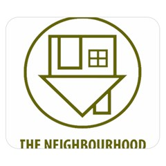 The Neighbourhood Logo Double Sided Flano Blanket (small)  by Celenk