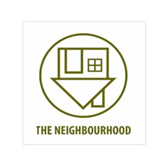 The Neighbourhood Logo Small Satin Scarf (square) by Celenk