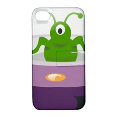Ufo Apple Iphone 4/4s Hardshell Case With Stand by Celenk