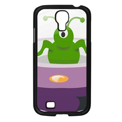 Ufo Samsung Galaxy S4 I9500/ I9505 Case (black) by Celenk