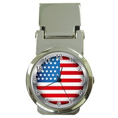 United Of America Usa Flag Money Clip Watches by Celenk