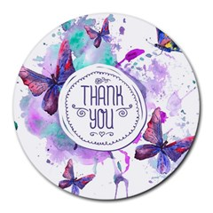 Thank You Round Mousepads by Celenk