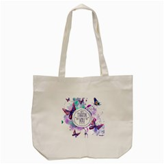 Thank You Tote Bag (cream) by Celenk