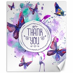 Thank You Canvas 8  X 10  by Celenk