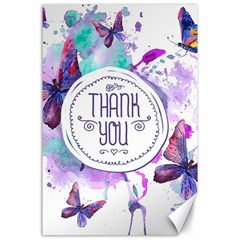 Thank You Canvas 24  X 36  by Celenk