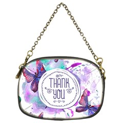 Thank You Chain Purses (two Sides)  by Celenk