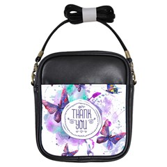 Thank You Girls Sling Bags by Celenk