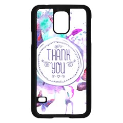 Thank You Samsung Galaxy S5 Case (black) by Celenk