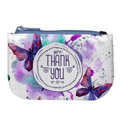 Thank You Large Coin Purse by Celenk
