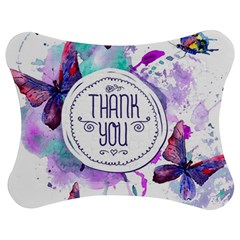 Thank You Jigsaw Puzzle Photo Stand (bow) by Celenk
