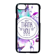 Thank You Apple Iphone 8 Seamless Case (black) by Celenk