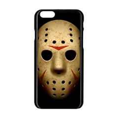 Jason Hockey Goalie Mask Apple Iphone 6/6s Black Enamel Case by Celenk