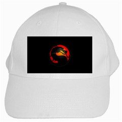Dragon White Cap