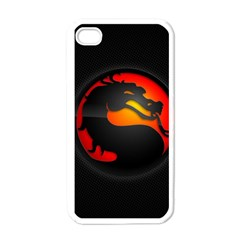 Dragon Apple Iphone 4 Case (white) by Celenk