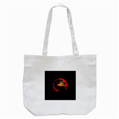 Dragon Tote Bag (white)