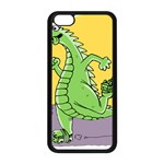 Dragon Apple iPhone 5C Seamless Case (Black) Front