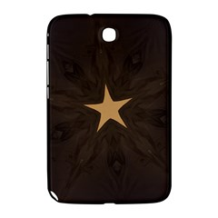 Rustic Elegant Brown Christmas Star Design Samsung Galaxy Note 8 0 N5100 Hardshell Case  by yoursparklingshop