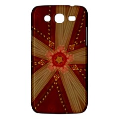 Red Star Ribbon Elegant Kaleidoscopic Design Samsung Galaxy Mega 5 8 I9152 Hardshell Case  by yoursparklingshop
