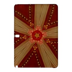 Red Star Ribbon Elegant Kaleidoscopic Design Samsung Galaxy Tab Pro 10 1 Hardshell Case by yoursparklingshop