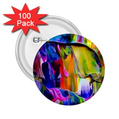 Abstract Acryl Art 2 25  Buttons (100 Pack)  by tarastyle