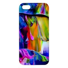 Abstract Acryl Art Apple Iphone 5 Premium Hardshell Case by tarastyle