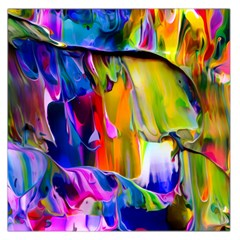 Abstract Acryl Art Large Satin Scarf (square) by tarastyle