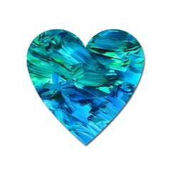 Abstract Acryl Art Heart Magnet by tarastyle