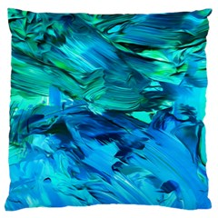 Abstract Acryl Art Standard Flano Cushion Case (one Side)