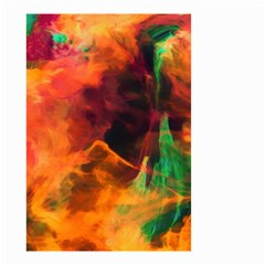 Abstract Acryl Art Small Garden Flag (two Sides) by tarastyle