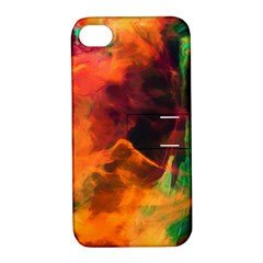 Abstract Acryl Art Apple Iphone 4/4s Hardshell Case With Stand by tarastyle
